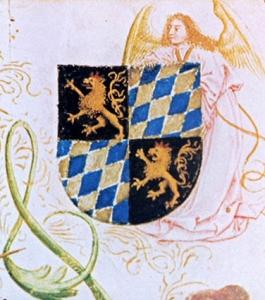 Wappen, wittelsbachisch um 1500